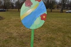 Krāsotās Lieldienu olas